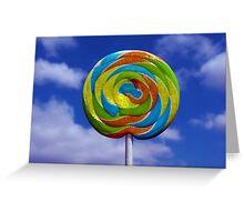 Lollypop, lollypop.... Greeting Card