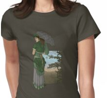 Everglade An Airship Pirates City Womens Fitted T-Shirt