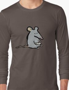 scribbling mouse Long Sleeve T-Shirt