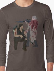 Carol Peletier and Daryl Dixon (Version 2) - The Walking Dead Long Sleeve T-Shirt