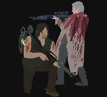 Carol Peletier and Daryl Dixon (Version 2) - The Walking Dead Unisex T-Shirt