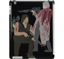Carol Peletier and Daryl Dixon (Version 2) - The Walking Dead iPad Case/Skin