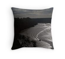 By the light.................. Throw Pillow