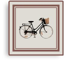 Lots of bicycles Canvas Print
