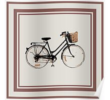 Lots of bicycles Poster