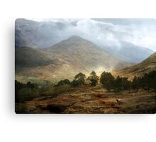 The Mountains that Fill my Life. Canvas Print