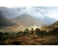 The Mountains that Fill my Life. Photographic Print
