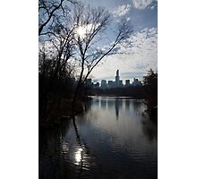 New York City Central Park Reflections, Ripples and Shine Photographic Print