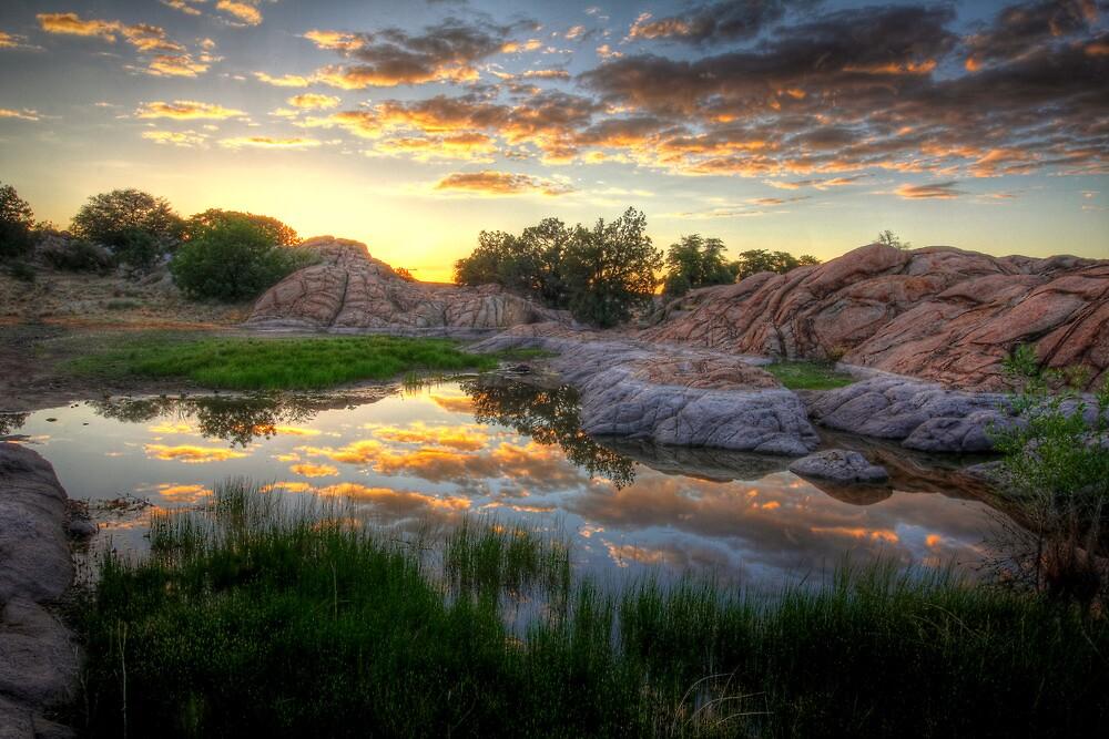 Cloudy Water by Bob Larson