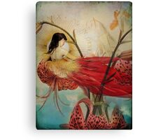 Lilies Wish Canvas Print