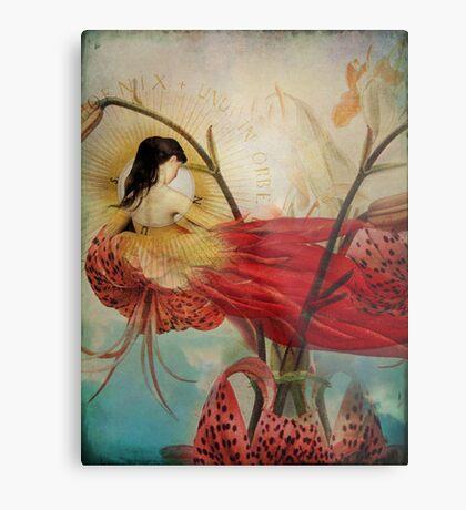 Lilies Wish Metal Print