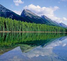 Medicine  Lake  , Jasper National Park, Canada by yoshiaki nagashima