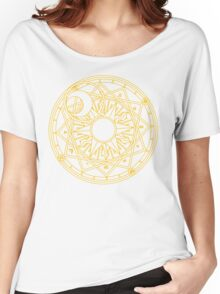 Clow Circle Women's Relaxed Fit T-Shirt