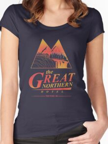 The Great Northern Hotel Women's Fitted Scoop T-Shirt