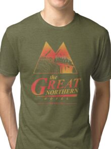 The Great Northern Hotel Tri-blend T-Shirt