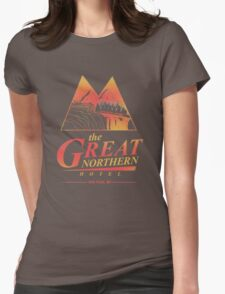 The Great Northern Hotel Womens Fitted T-Shirt