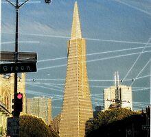 Streets of San Francisco - Transamerica Pyramid  by Cupertino