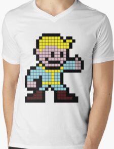 8Bit Nuclear Winter Mens V-Neck T-Shirt