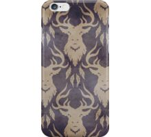 Nightmare Stag Purple iPhone Case/Skin