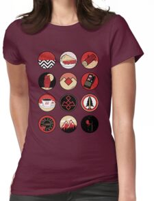 Iconic: Twin Peaks Womens Fitted T-Shirt