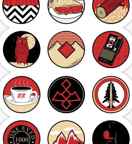 Iconic: Twin Peaks Sticker