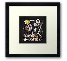 MIDGAR FIGHTER Framed Print