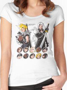 MIDGAR FIGHTER Women's Fitted Scoop T-Shirt
