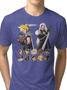 MIDGAR FIGHTER Tri-blend T-Shirt