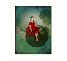 Thumbelina (Däumelinchen) Art Print
