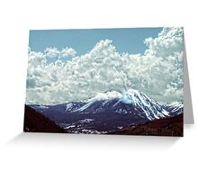 """""""Oh, What A View!"""" Greeting Card"""