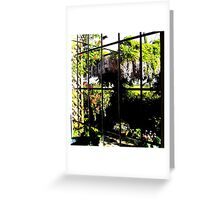 From  Cottage window !!!!! Greeting Card