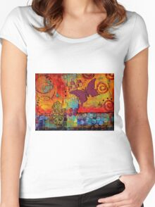 Freedom to CREATE Whatever I Want Women's Fitted Scoop T-Shirt