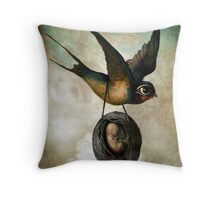 Precious flight Throw Pillow