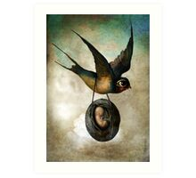 Precious flight Art Print