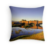 Ross Bridge in HDR Throw Pillow