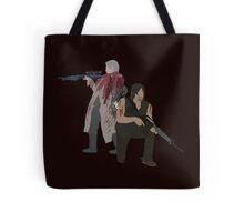 Carol Peletier and Daryl Dixon (Version 1) - The Walking Dead  Tote Bag