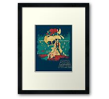 STAR POWER Framed Print
