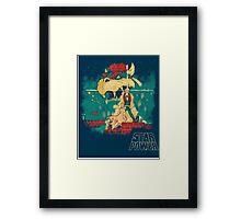 STAR POWER Framed Print