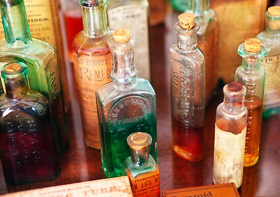Pharmacist - The Druggist and his cures by Mike  Savad