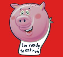 Ready to Eat Now - kids size Kids Tee
