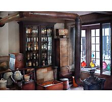 Pharmacist - Visiting the Apothecary  Photographic Print