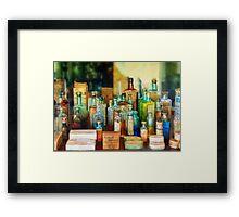 Pharmacist - Whatever ails ya - II Framed Print