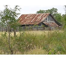 Disused Shearing Shed Photographic Print