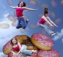 Doughnut Rain. by Susie Hawkins