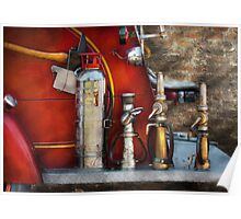 Fireman - An Assortment of Nozzles Poster