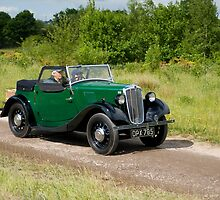 Morris Eight 2 Seater Tourer by David J Knight