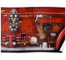 Fireman - Old Fashioned Controls Poster