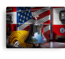 Fireman - Red Hot  Canvas Print