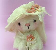Bonnibel Bunny - Handmade bears from Teddy Bear Orphans by Penny Bonser