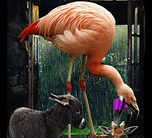 LEGGY BIRD WITH CUTE LITTLE ASS STEPS OUT OF SHOWER TO BLOW HORNY YOUNG BUCK by DilettantO